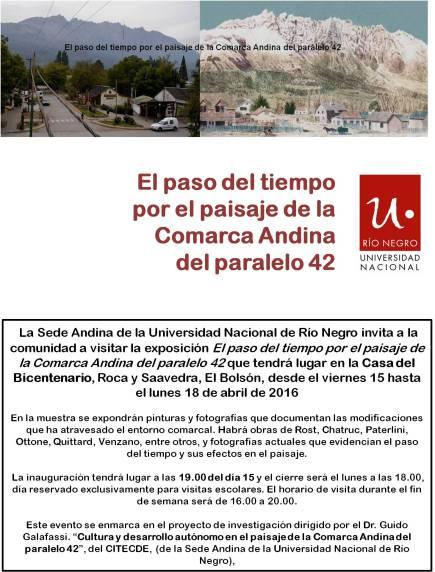 Invitacion Expo El Paisaje
